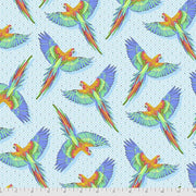 PREORDER - Daydreamer - Macaw Ya Later in Cloud - Tula Pink for Free Spirit - PWTP170.CLOUD - Half Yard