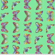 Daydreamer - Butterfly Hugs in Lagoon - Tula Pink for Free Spirit - PWTP171.LAGOO - Half Yard
