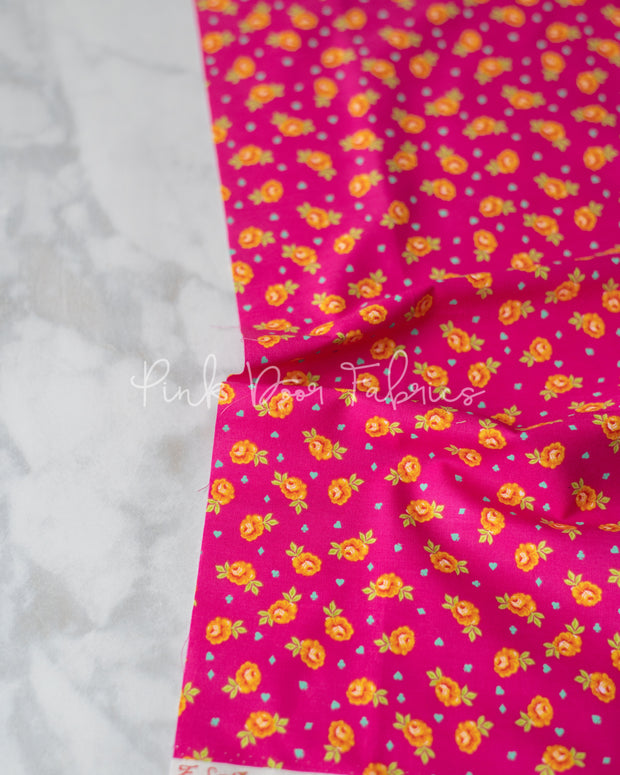 Curiouser & Curiouser - Baby Buds in Wonder - Tula Pink for Free Spirit - PWTP167.WONDE - Half Yard