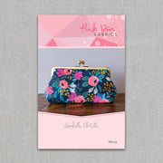 Pink Door Fabrics - The Isabelle Clutch - Printed Sewing Pattern - PDF-128