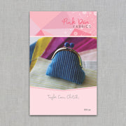 Pink Door Fabrics - The Taylor Coin Clutch - Printed Sewing Pattern - PDF-126