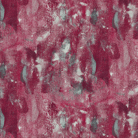 Prism - Drop Cloth in Ruby - Giucy Giuce for Andover - A-9574-R - Half Yard
