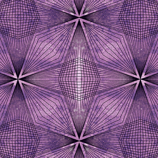 Prism - Prism in Amethyst - Giucy Giuce for Andover - A-9576-P - Half Yard