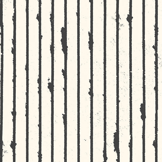 Prism - Stripe in Parchment - Giucy Giuce for Andover - A-9575-L - Half Yard