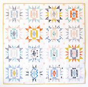 Sienna Burst - Then Came June - Quilt Pattern - Paper Pattern