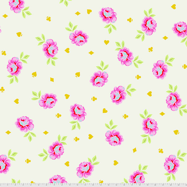 "Curiouser & Curiouser - 108"" WIDE Big Buds in Wonder - Tula Pink for Free Spirit - QBTP006.WONDE - Half Yard"