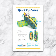 Quick Zip Cases - Patterns by Annie - Paper Pattern - PBA239