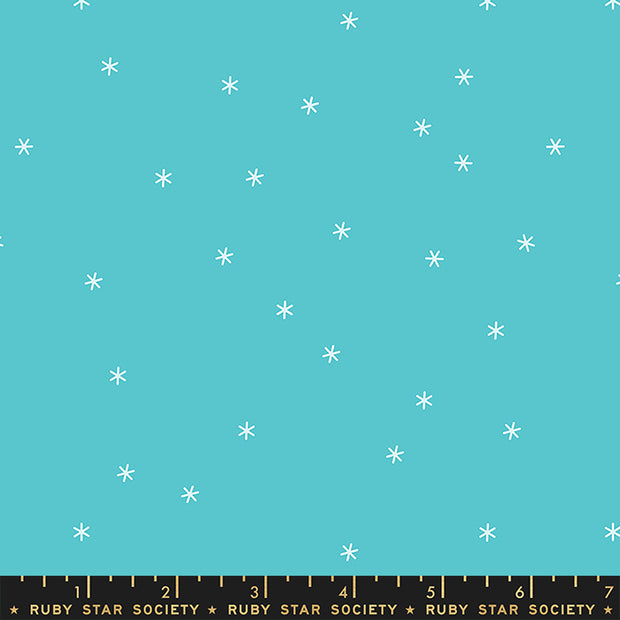 Stay Gold - Spark in Turquoise - Melody Miller for Ruby Star Society - RS0005-39 - Half Yard