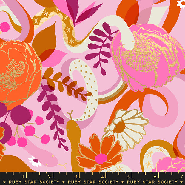 Rise - Dream in Peony - Melody Miller for Ruby Star Society - RS0011 12M - Half Yard