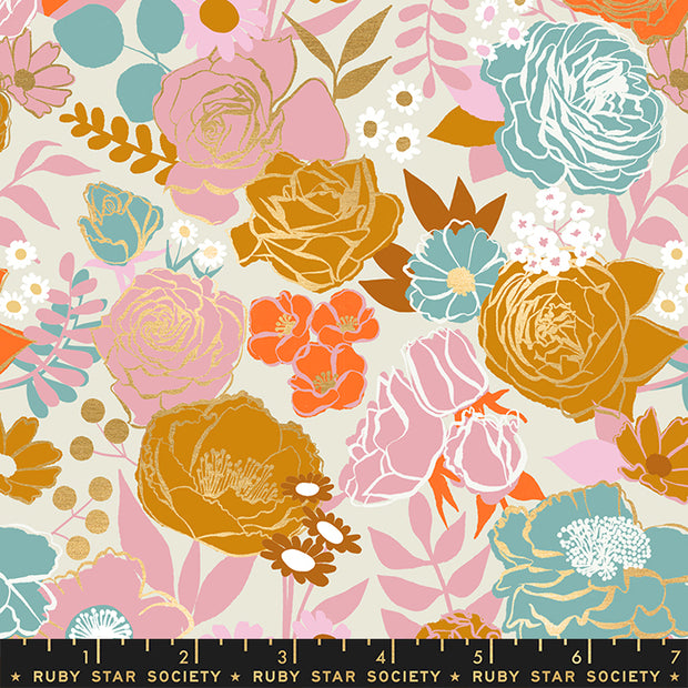 Rise - Grow in Shell - Melody Miller for Ruby Star Society - RS0012 11M - Half Yard