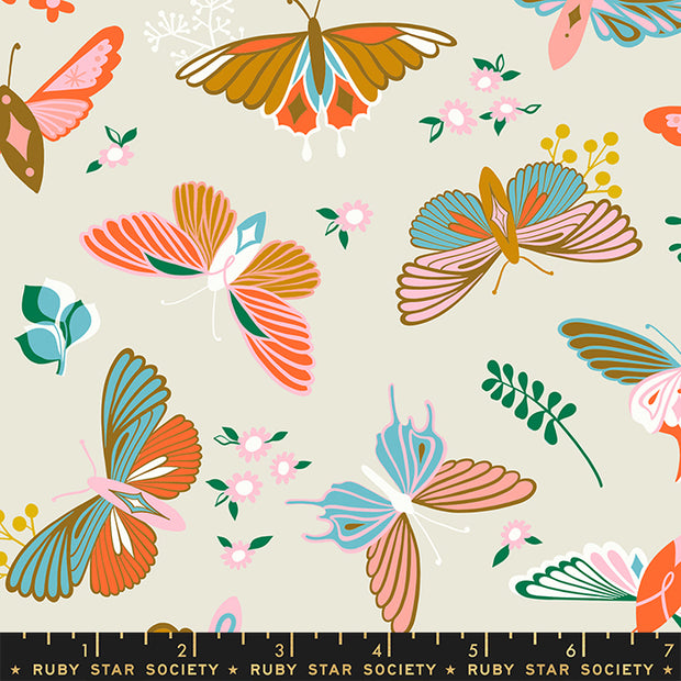 Stay Gold - Flutter in Shell - Melody Miller for Ruby Star Society - RS0020-11 - Half Yard