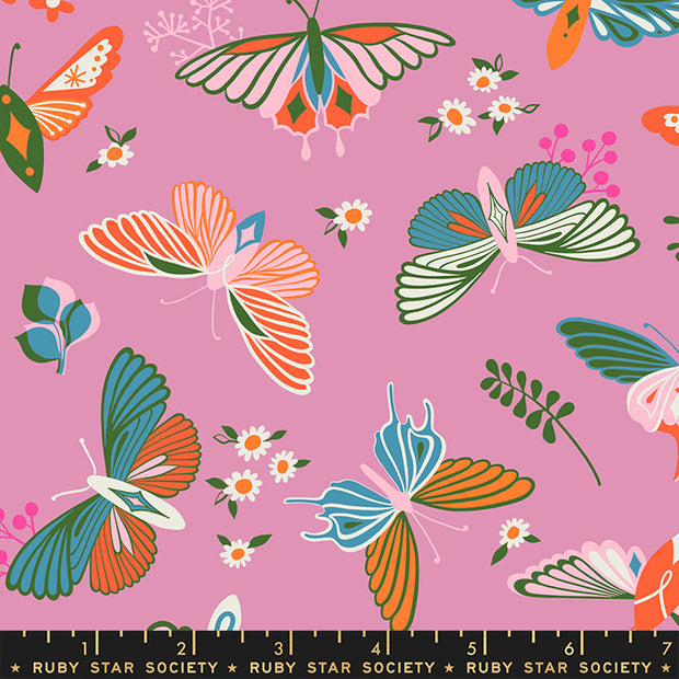 Stay Gold - Flutter in Kiss - Melody Miller for Ruby Star Society - RS0020-13 - Half Yard
