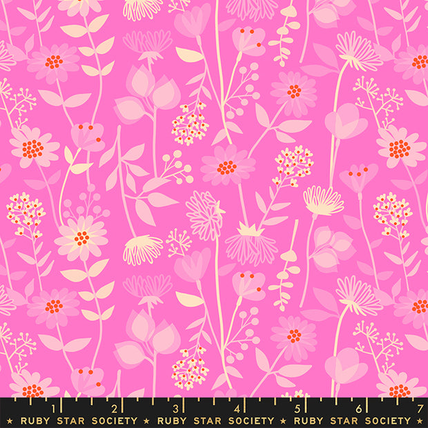 Stay Gold - Meadow in Lipstick - Melody Miller for Ruby Star Society - RS0021-13 - Half Yard