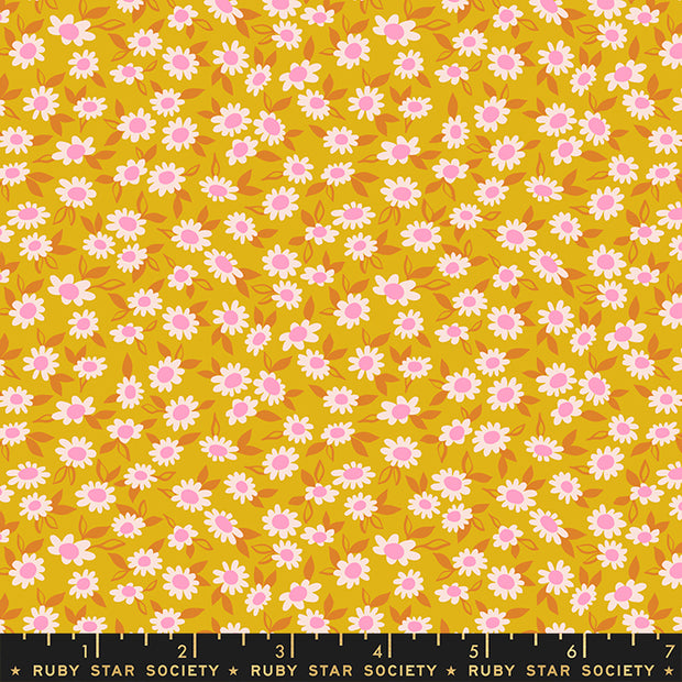 Stay Gold - Morning in Goldenrod - Melody Miller for Ruby Star Society - RS0023-12 - Half Yard