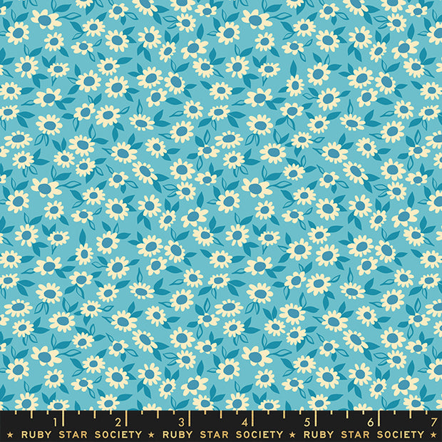 Stay Gold - Morning in Turquoise - Melody Miller for Ruby Star Society - RS0023-15 - Half Yard
