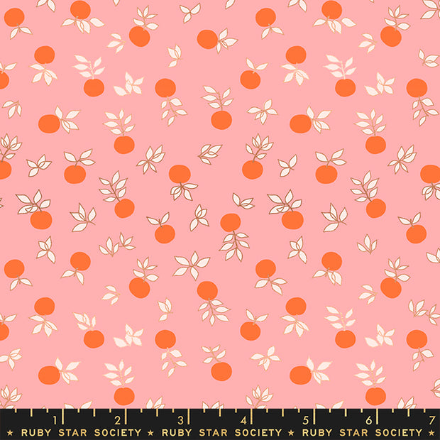 Stay Gold - Blossom in Metallic Merry - Melody Miller for Ruby Star Society - RS0024-14M - Half Yard