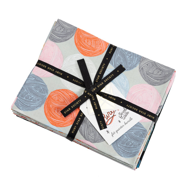 Purl - Fat Quarter Bundle - Sarah Watts for Ruby Star Society - RS2029FQ