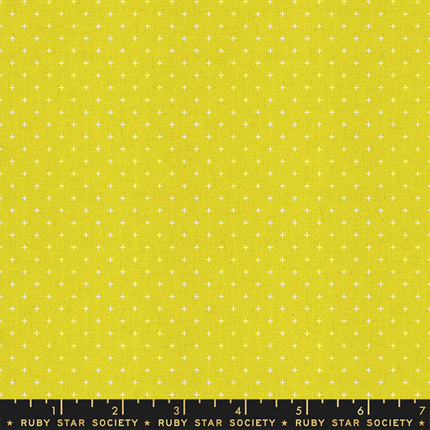 Heirloom - Add it Up in Citron - Alexia Abegg for Ruby Star Society - RS4005-45 - Half Yard