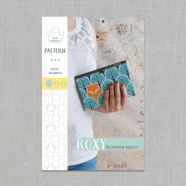 Roxy Wallet - Sewing Pattern - Serial Bagmakers - Paper Pattern