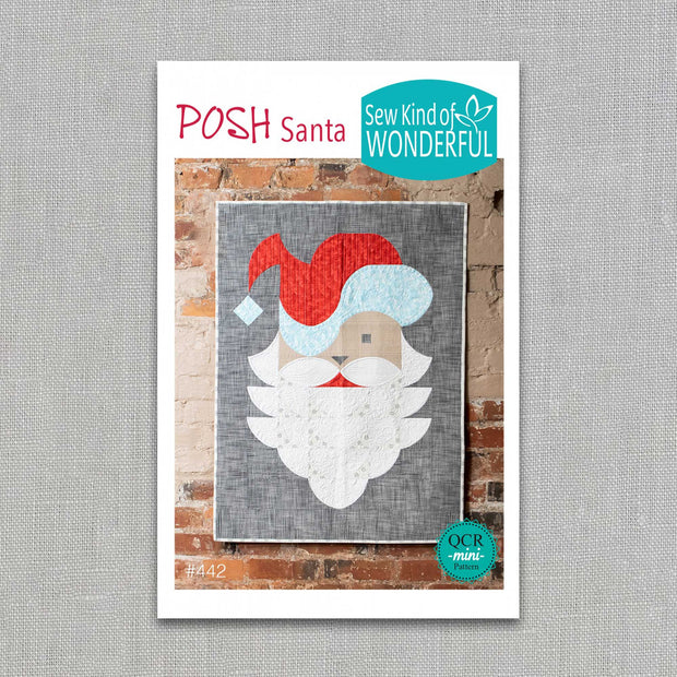 Posh Santa - Sew Kind of Wonderful - Paper Pattern - SKW442