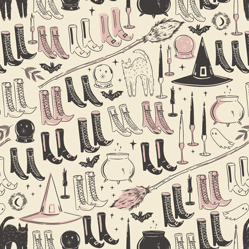 Spooky 'n Sweet - Witch's Wardrobe - AGF Studio by Art Gallery Fabrics - SNS-13011 - Half Yard