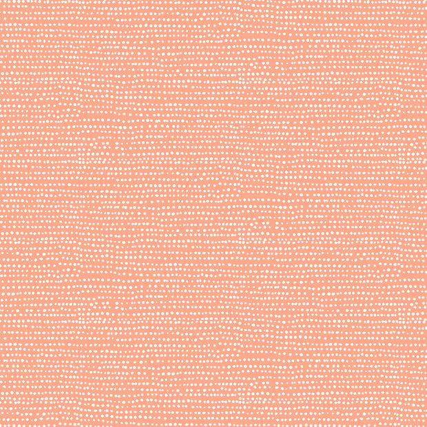 Moonscape - Moonscape in Coral -  Dear Stella Fabrics - ST-1150CORA - Half Yard