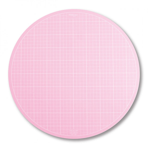 "Sue Daley 16"" Round Rotating Cutting Mat - STCM-15983"