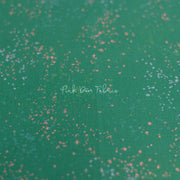 Speckled Metallic - Speckled Metallic in Emerald - Ruby Star Society - RS5027 74M - Half Yard