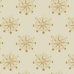 Aweigh North - Star Compass in Sand -  Rae Ritchie for Dear Stella - ST-SRR1061SA - Half Yard