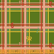 Sugarplum - Plaid in Green - Heather Ross for Windham Fabrics - 50168-5 - 1/2 Yard