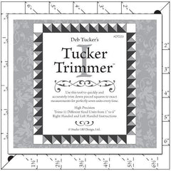 Tucker Trimmer I Quilt Ruler by Deb Tucker/Studio 180 Designs - Half Square Triangle Ruler