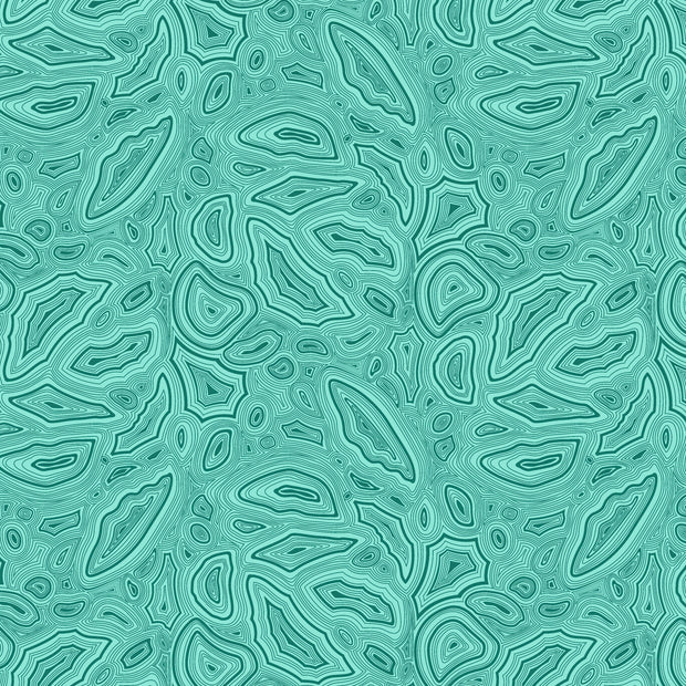 True Colors 2020 - Mineral in Aquamarine - Tula Pink for Free Spirit - PWTP148.AQUAM - Half Yard