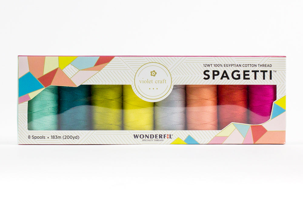 Violet Craft Wonderfil Spaghetti 12 weight - VCSPAG_THREAD