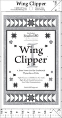 Wing Clipper I Quilt Ruler by Deb Tucker/Studio 180 Designs - Flying Geese Ruler
