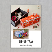 Zip Up Tray - Sewing Pattern - Aneela Hoey - Paper Pattern