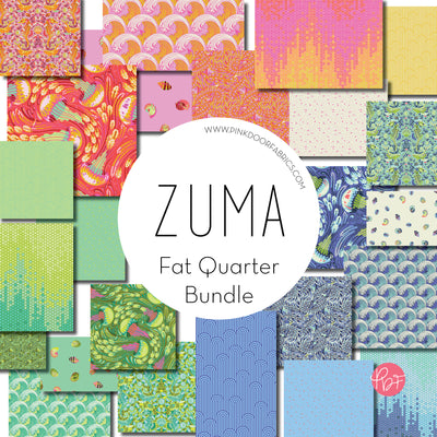 Zuma - Fat Quarter Bundle of 24 Prints - Tula Pink for Free Spirit - ZUMA_FQ