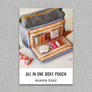 All in One Boxy Pouch - Sewing Pattern - Aneela Hoey - Paper Pattern