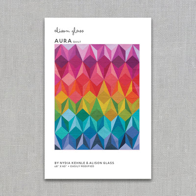 Aura - Quilt Pattern - Alison Glass and Nydia Kehnle - Paper Pattern