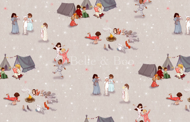 Belle and Boo UK - Bedtime Stories - BBUK_BedtimeStories - Fat Quarter