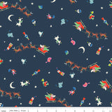 Way Up North - Flight in Navy - Jill Howarth for Riley Blake - C7322-NAVY - Half Yard