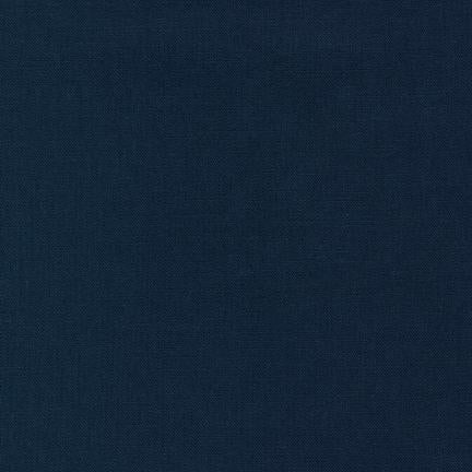 Essex Linen - Linen in Navy - E014-1243 - Half Yard