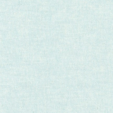 Essex Linen - Yarn Dyed in Aqua - E064-1005 - Half Yard