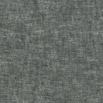 Essex Linen - Yarn Dyed in Black - E064-1019 - Half Yard