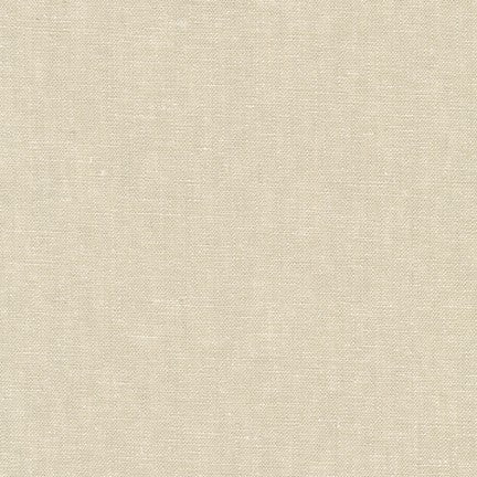 Essex Linen - Yarn Dyed in Limestone - Robert Kaufman Fabrics - E064-478 - Half Yard