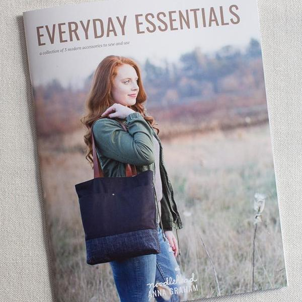 Everyday Essentials Pattern Book by Anna Graham of Noodlehead