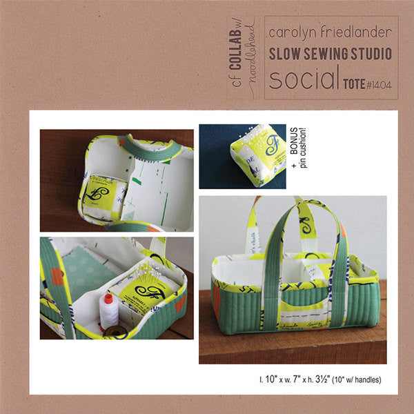 Social Tote - Sewing Pattern - Carolyn Friedlander - CF1404