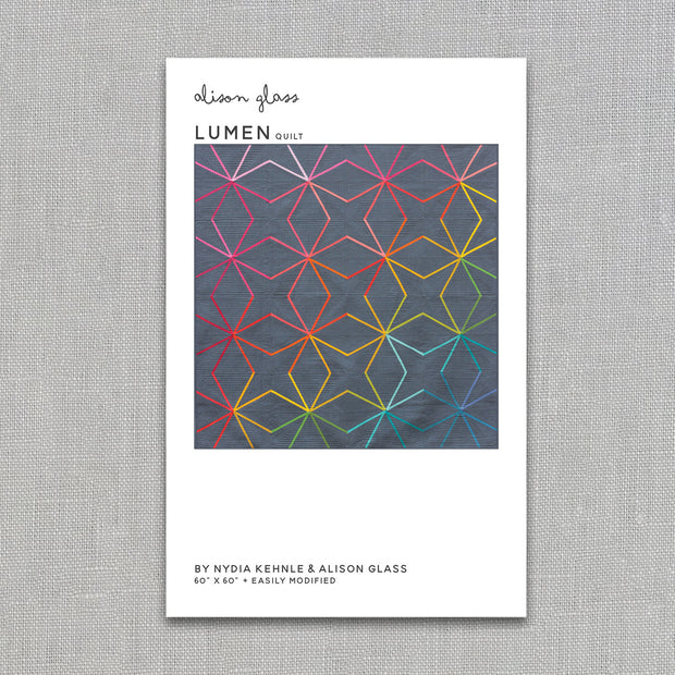 Lumen - Quilt Pattern - Alison Glass and Nydia Kehnle - Paper Pattern