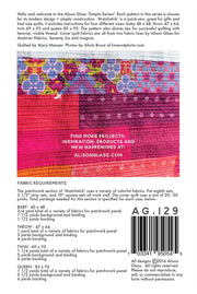 Matchstick - Quilt Pattern - Alison Glass - Paper Pattern