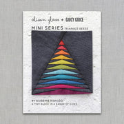 Mini Series Triangle Geese - Quilt Pattern - Alison Glass and Giuseppe Ribaudo - Paper Pattern