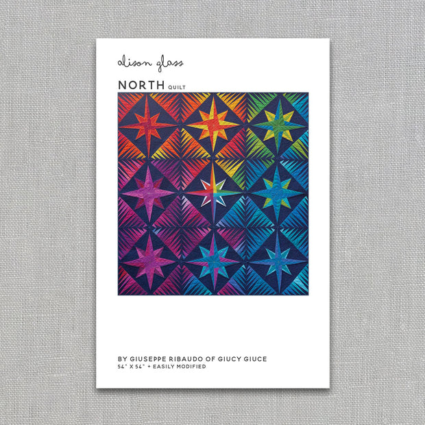 North - Quilt Pattern - Alison Glass and Giuseppe Ribaudo - Paper Pattern